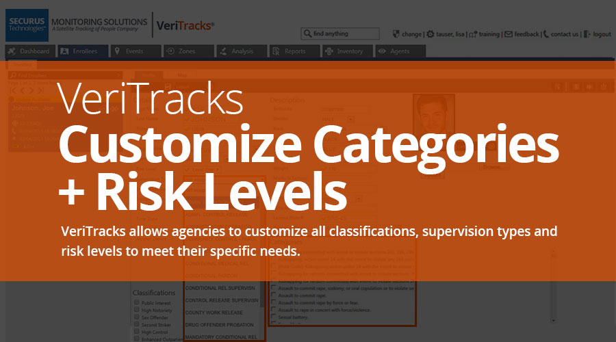 VeriTracks™ Electronic Monitoring Platform is Completely Customizable